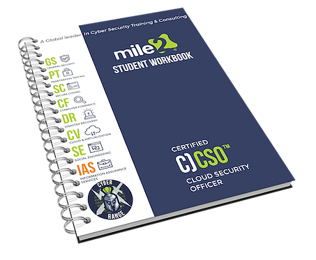 C)CSO - Certified Cloud Security Officer Courseware Kit
