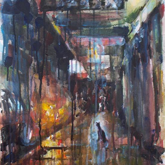 Street after rain.