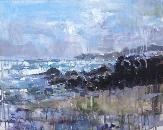 Coast Pererenan, 40x50cm, 2015