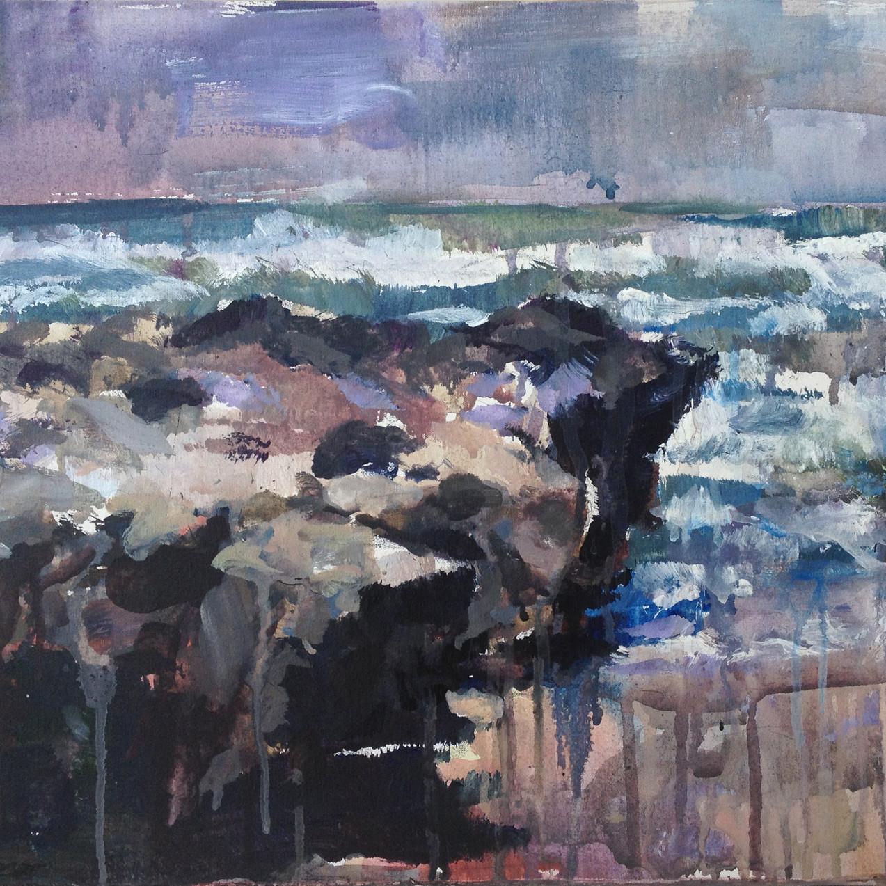 Rock ocean.