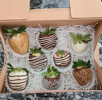Choc Coated Strawberries