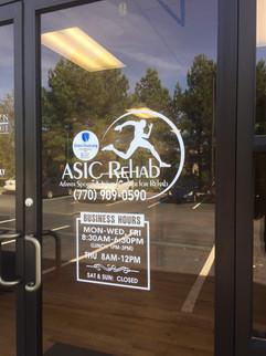 ASIC Rehab Door