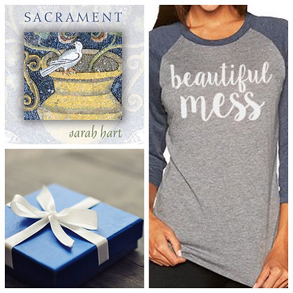 Gift Bundle - Beautiful Mess Tee + CD