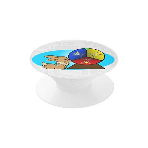 Eevee Pin wheel Pop Socket
