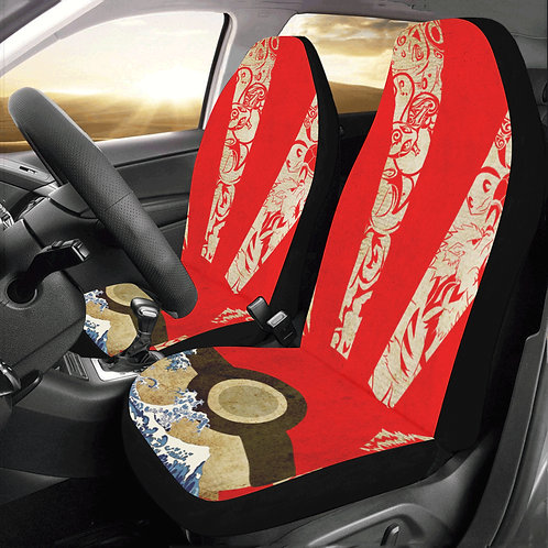Pokemon Rising Sun Car Seat Covers