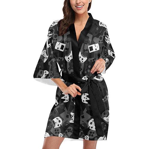 Gamer Camo Kimono Robe