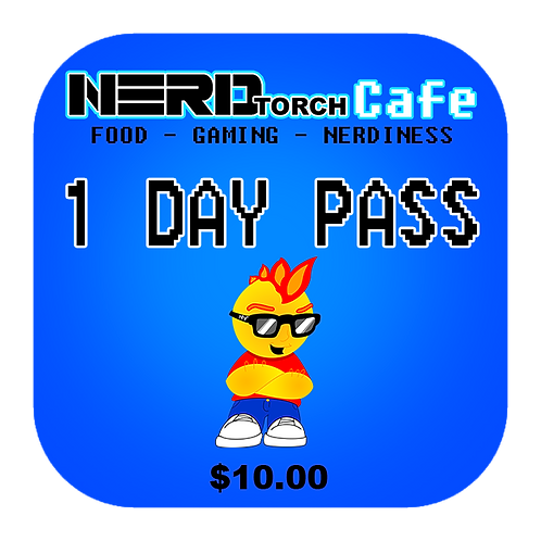NERD torch Cafe 1 Day Pass