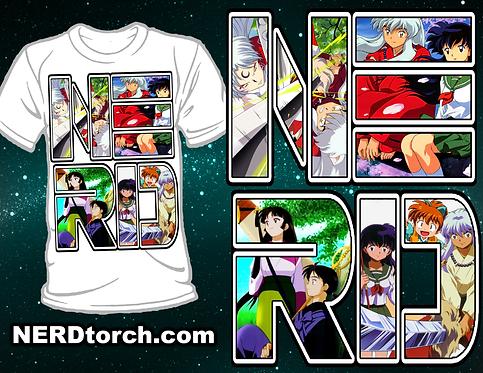 Inuyasha NERD Shirt (Gen 3)