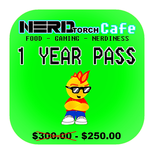 NERD torch Cafe 1 Year Pass