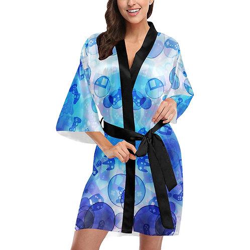 Gamer Bubble Kimono Robe