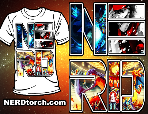 Pokemon NERD Shirt (Gen 3)