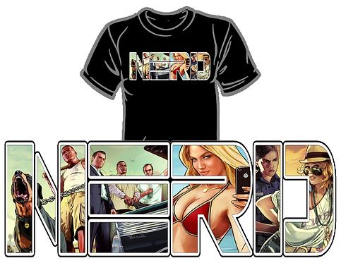 Grande Theft Auto NERD Shirt (Gen 2)