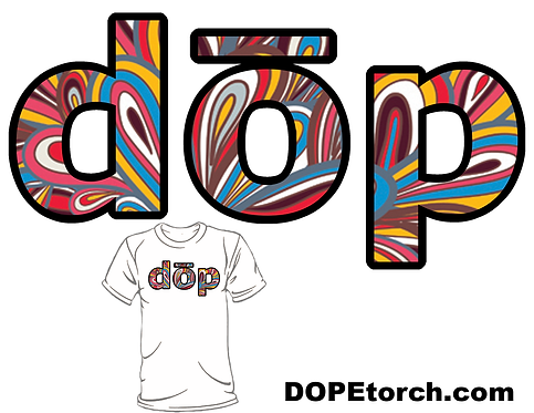 dōp- The peacock letters