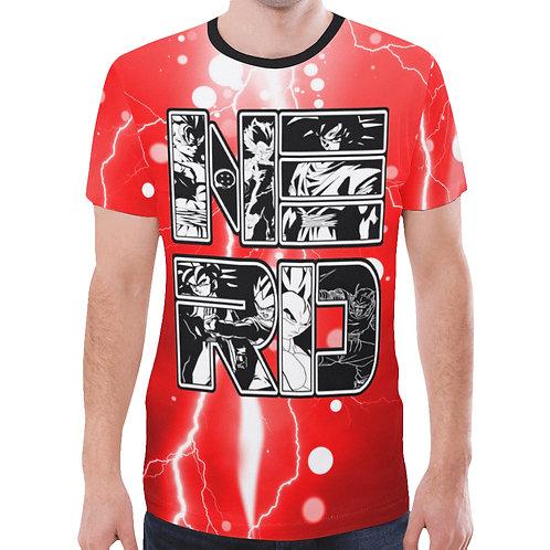 Black & White Dragonball Z NERD Shirt