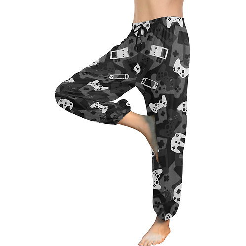 Gamer Camo Women's Harem Pants