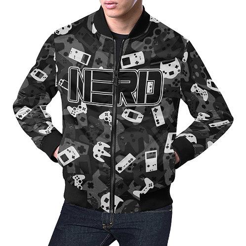 Gamer Camo Bomber Jacket