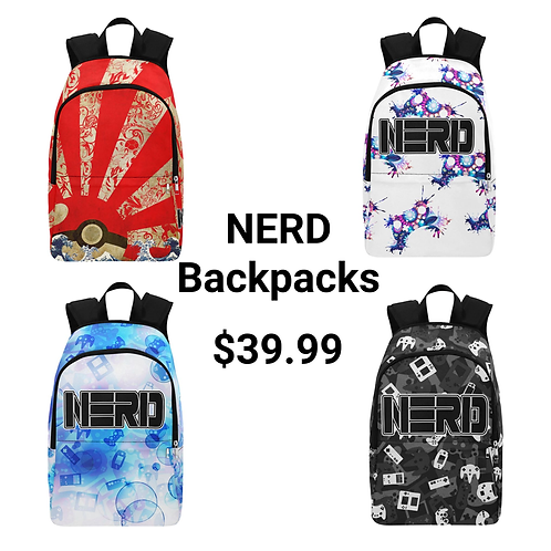 NERD Backpacks