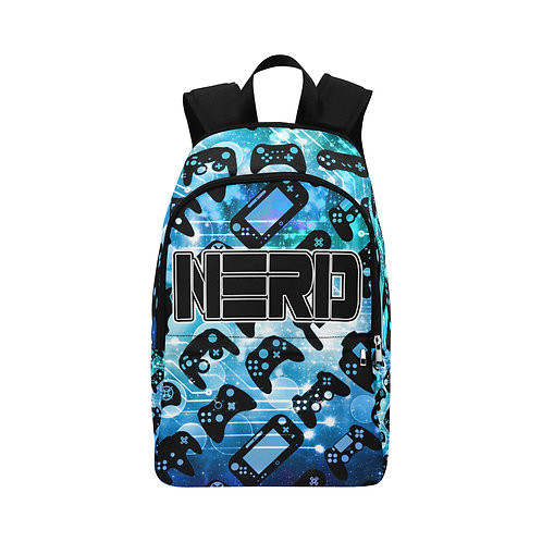 Blue Galaxy Controller Backpack