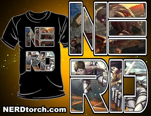 Attack On Titan NERD Shirt (Gen 3)