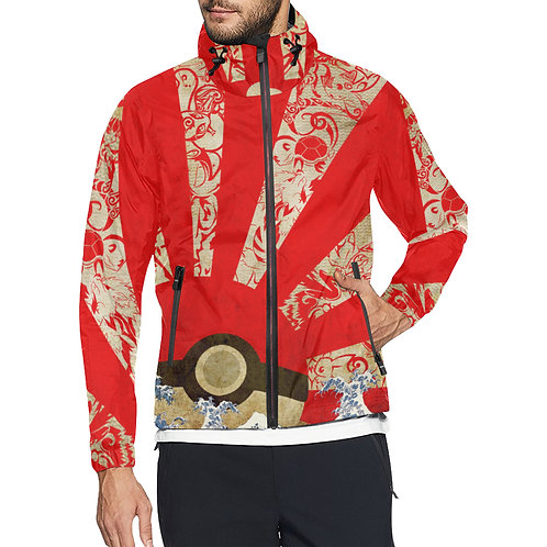 Pokemon Rising Sun Windbreaker