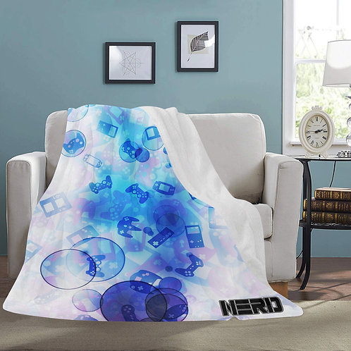 Gamer Bubble Fleece Blanket