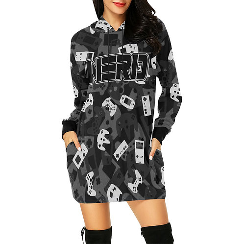 Gamer Camo Hoodie Dress