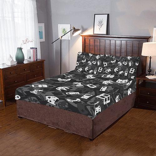 Gamer Camo 3-Piece Bedding Set
