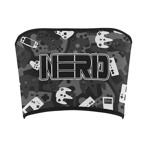 Gamer Camo Bandeau Top