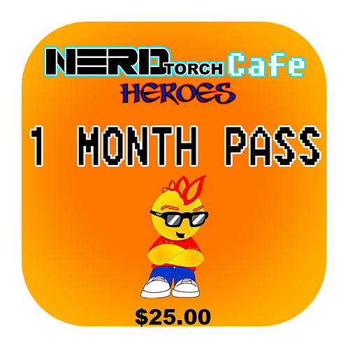 NERDtorch Cafe 1 Month Pass