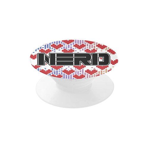 Nerdy Pixel Heart Pop Socket