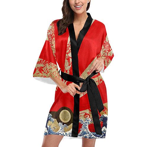 Pokemon Rising Sun Kimono Robe