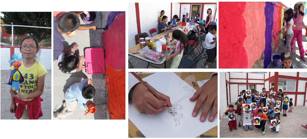 Taller de muralismo - niños