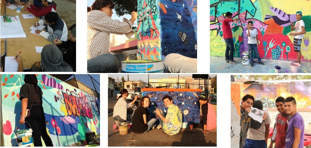 Taller de muralismo - adolescentes