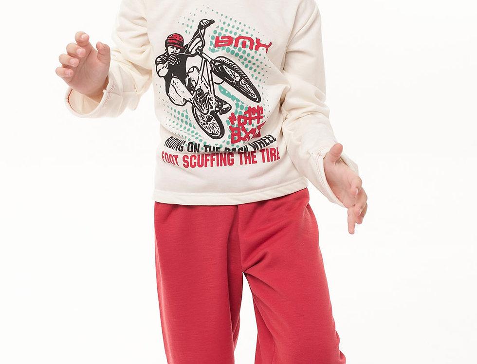 Pijama Moletim Masculino