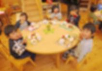 もとの保育園:食事イメージ