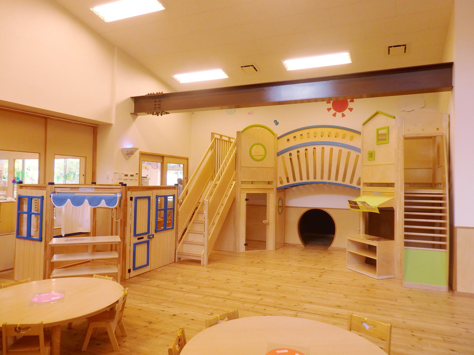 もとの保育園:屋内遊具