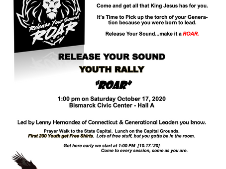 YOUTH! Let's Hear Your ROAR!