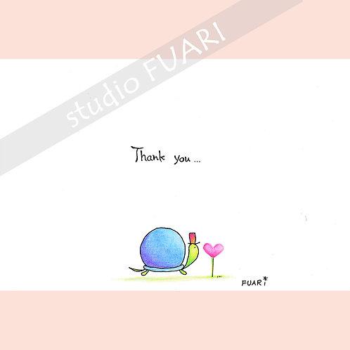 P010 かめさん Thank you