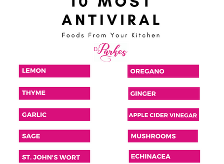 Top 10 Antiviral Herbs from Your Kitchen
