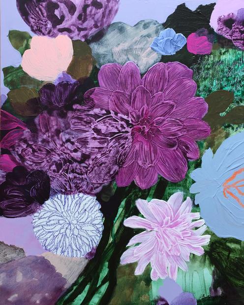 Purple Bouquet II