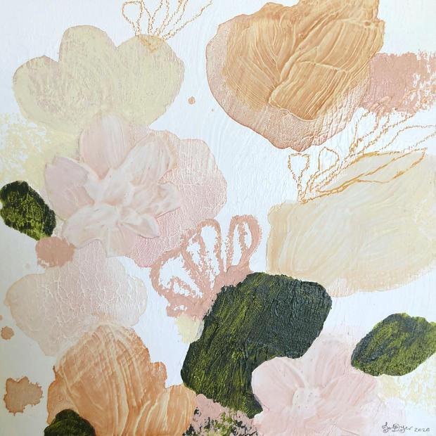 Pale Blooms II
