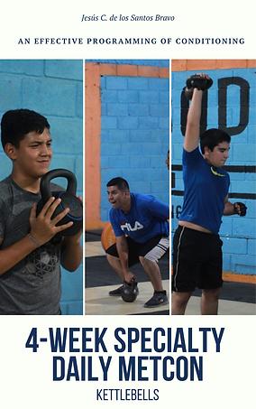 4-Week Specialty Daily metcon - Portada