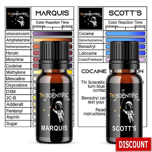 TN Scientific | Marquis & Scott's Reagent Testing Kit ~
