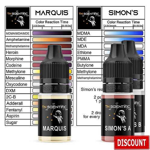 TN Scientific | Marquis & Simon's Reagent Testing Kit