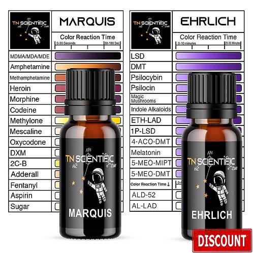 TN Scientific | Marquis & Ehrlich Reagent Testing Kit ~