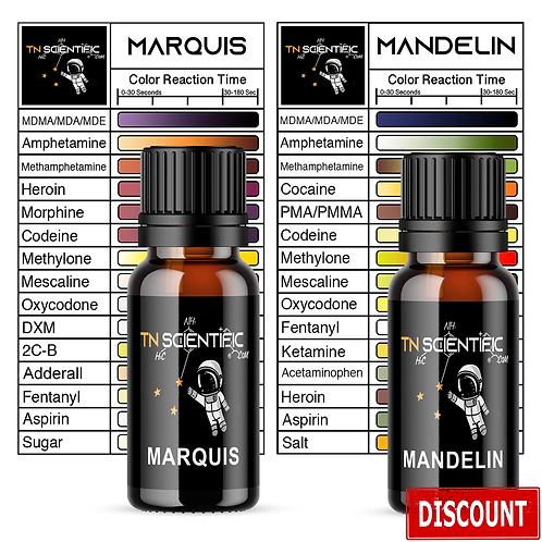 TN Scientific | Marquis & Mandelin Reagent Testing Kit ~