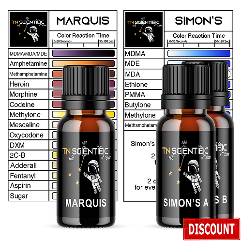 TN Scientific | Marquis & Simon's Reagent Testing Kit ~