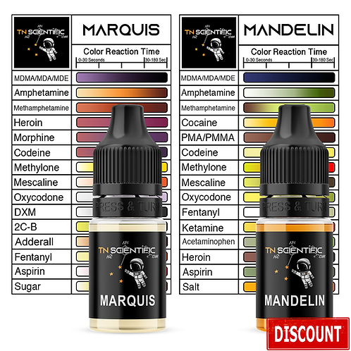 TN Scientific | Marquis & Mandelin Reagent Testing Kit