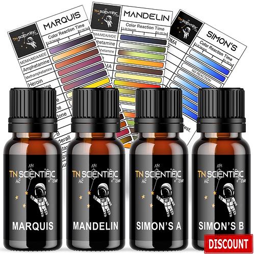 TN Scientific | Marquis, Mandelin, Simon's Reagent Testing Kit ~