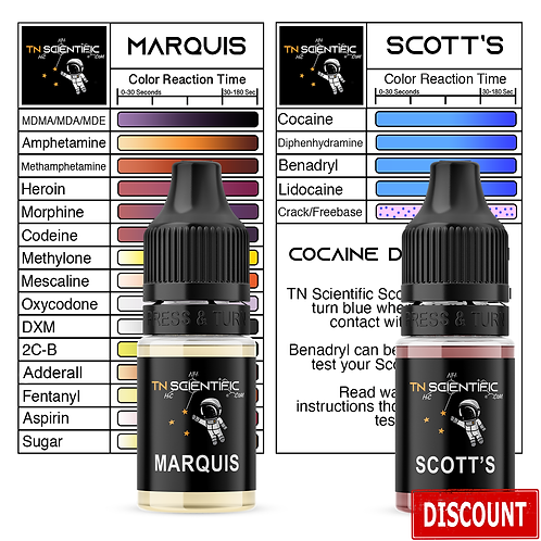 TN Scientific | Marquis & Scott's Reagent Testing Kit
